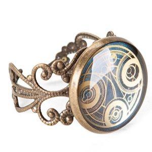 Doctor Who Gallifreyan Adjustable Ring